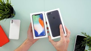 iPhone X Unboxing - Silver