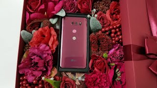LG V30 Raspberry Rose Unboxing + Thoughts On LG