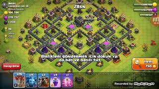 Clash of clans oynuyoruz 3.bolum