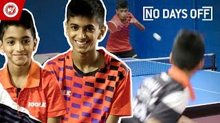 Table Tennis Superstars | 10 & 12-Year-Old Brothers