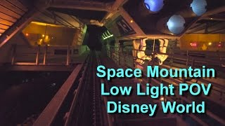 Space Mountain Ultra Low Light On Ride POV Left and Right Side Walt Disney World