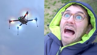 JOEY CRASHED THE DRONE!!! | Day 65