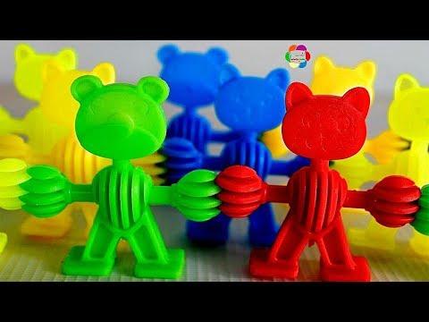 لعبة تعليم الاشكال الجديدة بالمكعبات اجمل العاب الاطفال للبنات والاولاد blocks learn shapes