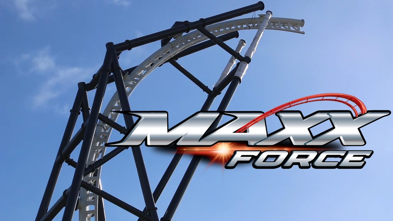 Maxx Force February 2019 Construction Update (Six Flags Great America)