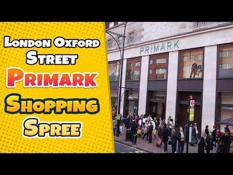 Shop with me in London Oxford Street Primark