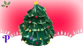 #DIY #christmas tree Como hacer manualidades de papel Arbol de navidad -PRACTIKO