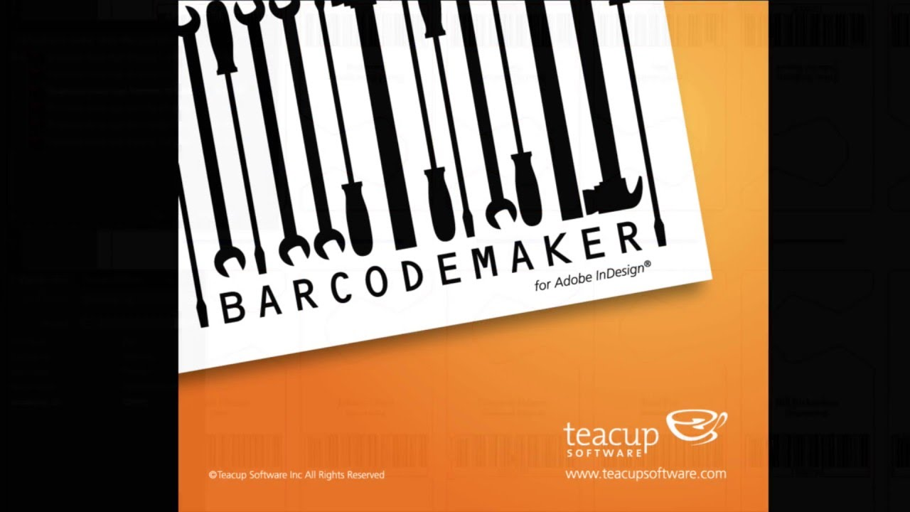 BarcodeMaker - Barcode Generating Software For Adobe