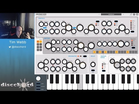 Let's Play with Kronecker - Clockwork Synthesizer