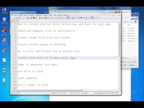 How To Burn a CD or DVD on Windows 7 for free[HD] 720p
