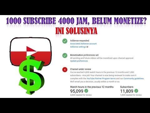 Cara Mengirim Email Ke Youtube Untuk Monetize