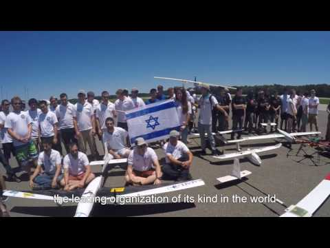 Technion Students in Autonomous Unmanned Vehicle System Competition