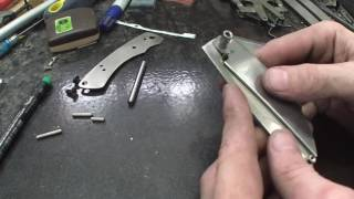 How To Make a Slip Joint Folding Knife Part 1 - Knife Making 004 - WSW