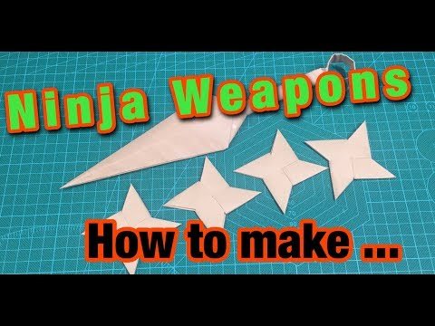 [MonMen House] Ninja Weapons - So Amazing !