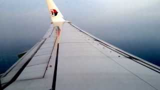 Malaysian Airlines B737-800 KL-JHB take-off and landing