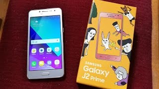 Samsung Galaxy J2 Prime - Unboxing & First Look! (4K)