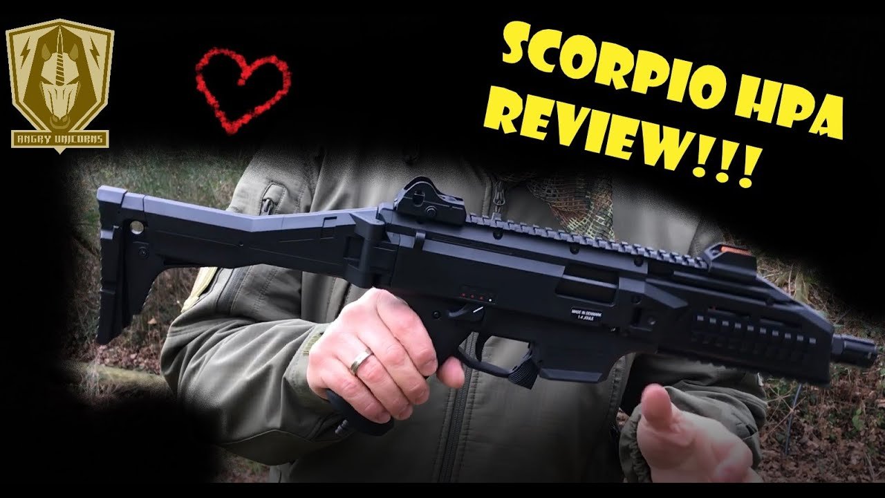 Review Asg Cz Scorpion Evo3 A1 Inferno Hpa Youtube