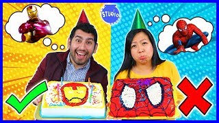 Download Marvel Superhero Cake Decorating Challenge! How To DIY Spider man Cake Mp3 and Videos