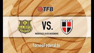 Patagonia: Club Atlético All Boys de Santa Rosa vs. Club Atlético Cinco Saltos #TFB