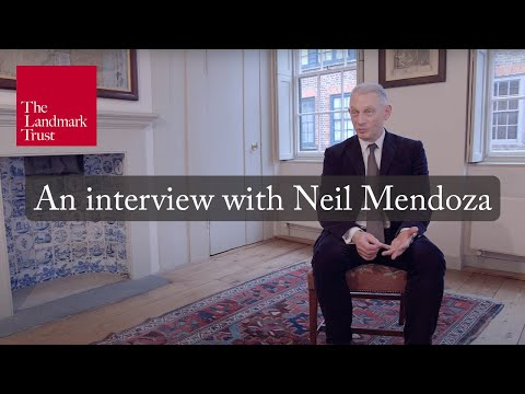 An interview with Landmark Trust Chairman Neil Mendoza