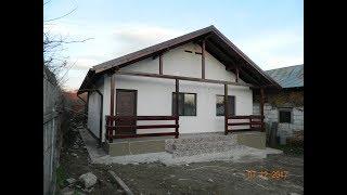 Constructii case lemn ieftine -  cum am construit casa de la Goruna, jud  Prahova