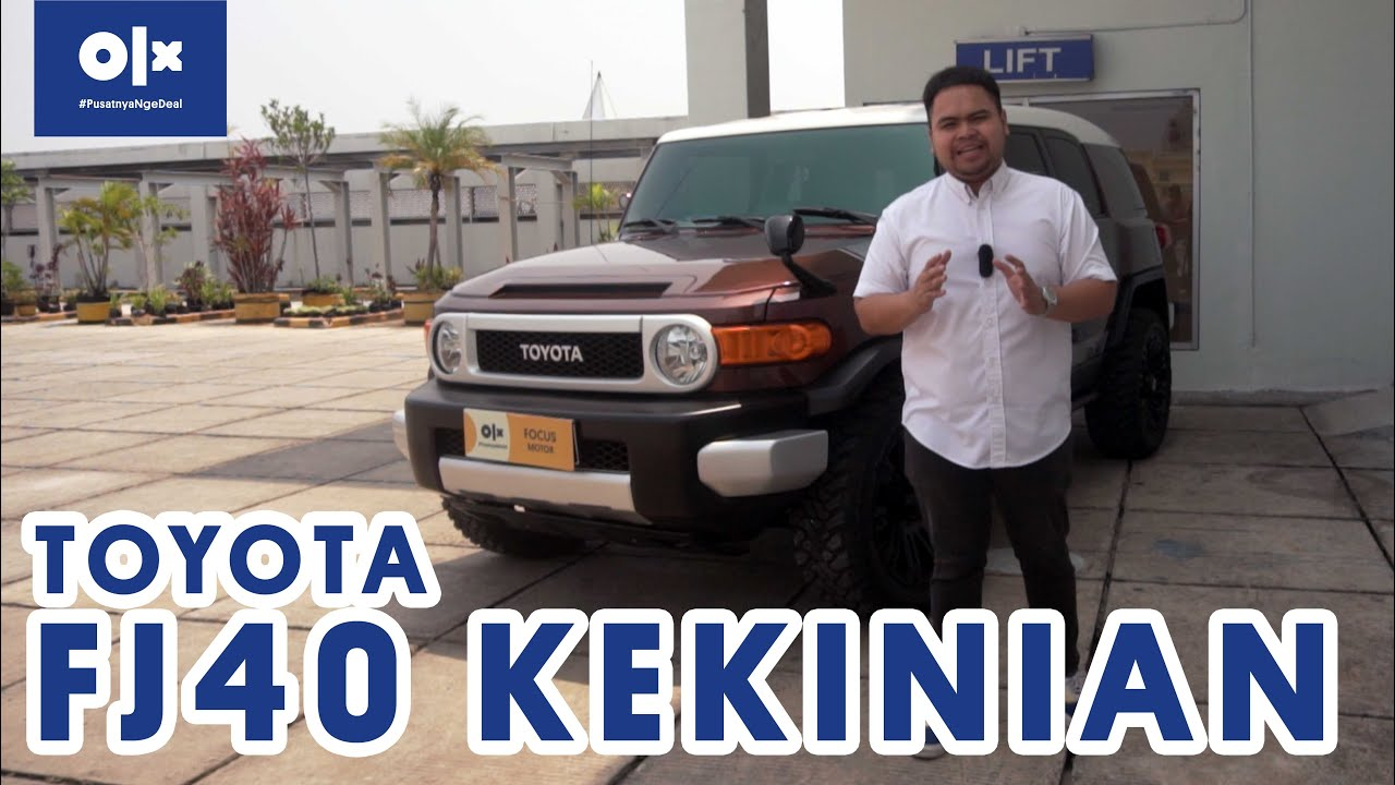 Toyota Fj Cruiser Titisan Versi Modern Masa Kini Dari Fj40 Youtube