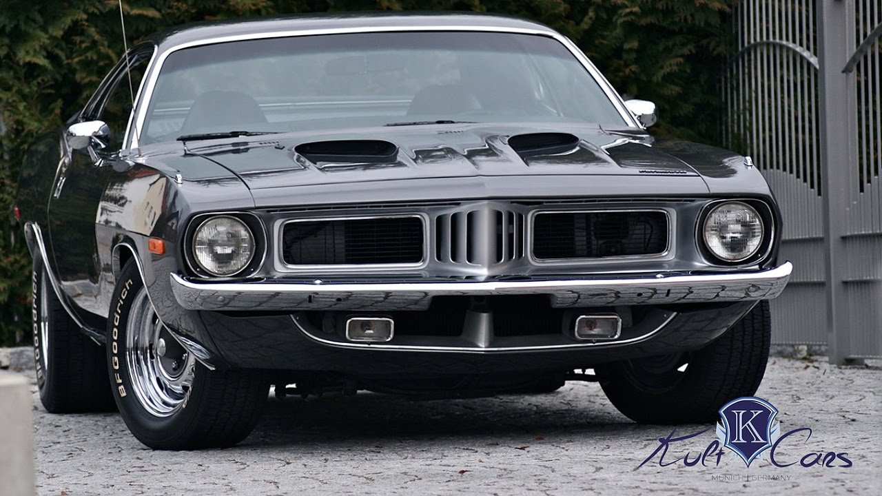1973 Plymouth CUDA - First Start - THE BEST MUSCLE CAR! - YouTube