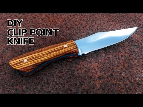 Knife Making: Full Tang Clip Point Knife
