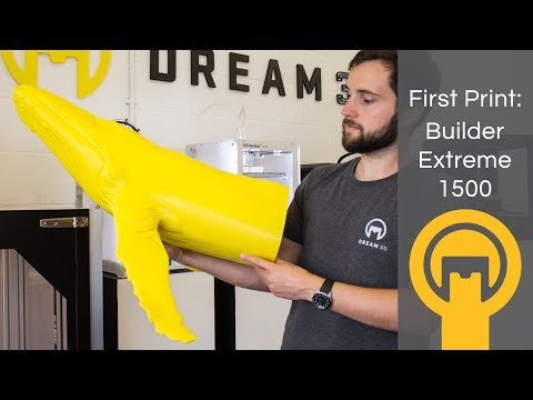 MASSIVE First Print On The Builder Extreme 1500 | Dream 3D
