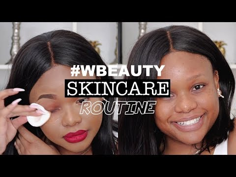 MY POST-FASHION WEEK SKINCARE ROUTINE | FT. WBEAUTY