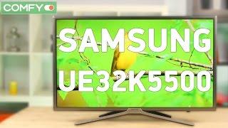 Samsung UE32K5500 - телевізор з якісним екраном і smart tv - Відео демонстрація