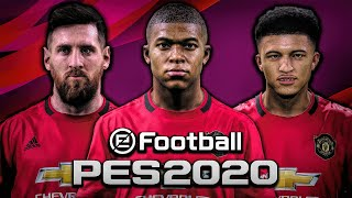 SIGNING MESSI, MBAPPE, AND SANCHO IN PES 2020 MASTER LEAGUE!