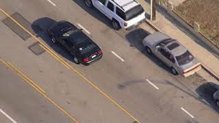 9/19/17: Car Chase Mustang on the Run - Unedited