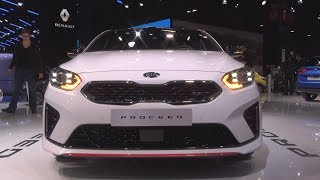 Kia ProCeed GT 1.6 Petrol T-GDi 204 hp ISG DCT7 (2019) Exterior and Interior