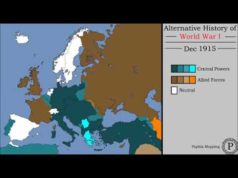 Alternative History Of World War 1: Every Other Day (Scenario 2)
