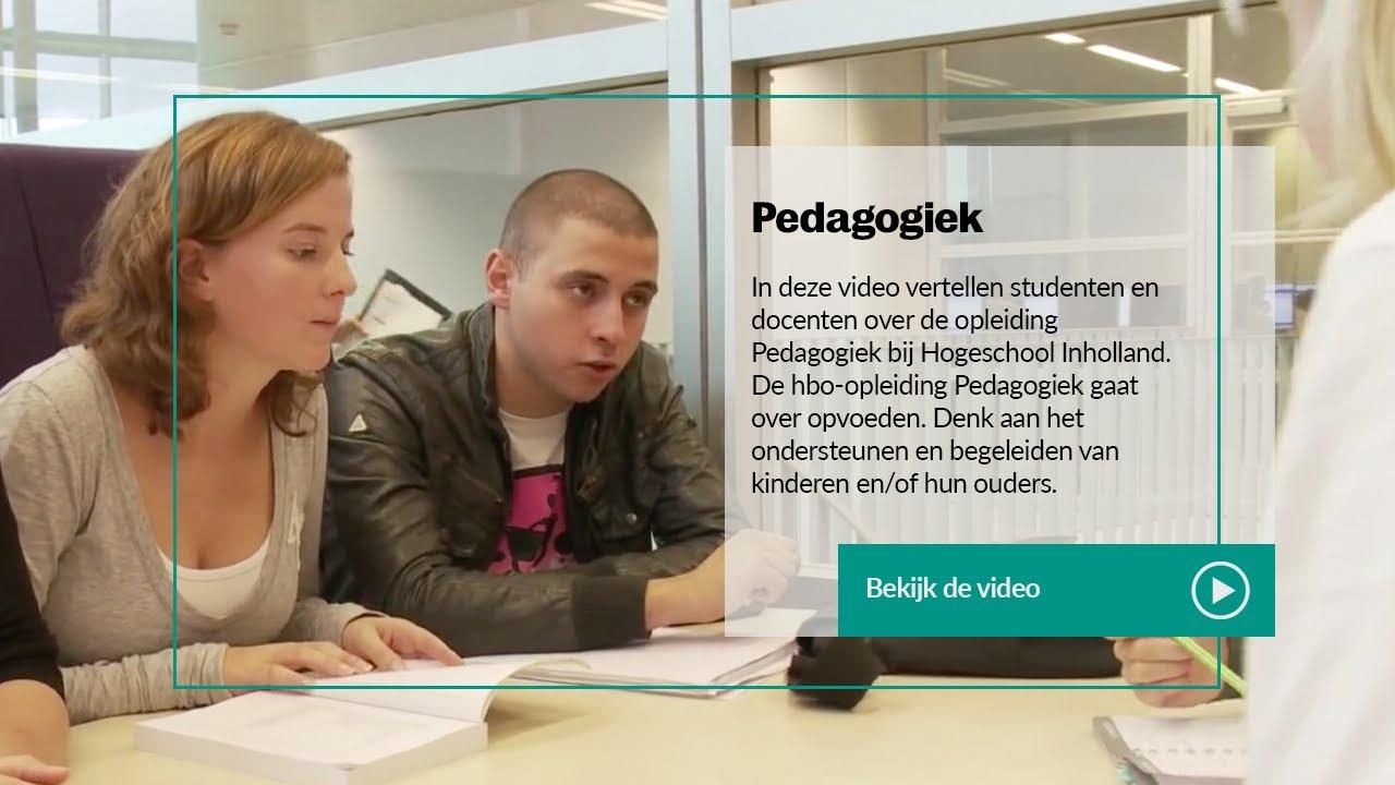 Inholland pedagogiek studenten en docenten over de for Opleiding hovenier hbo