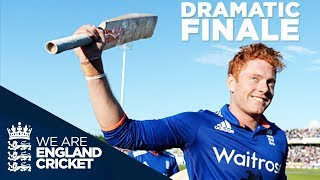 Great Drama As Series Reaches Gripping End: England v New Zealand 5th ODI 2015 - Extended Highlights