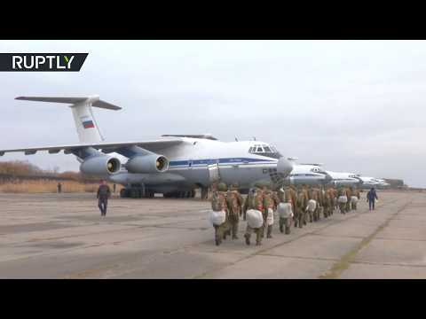 Show of force? Russian paratroopers take part in drills near border with N Korea