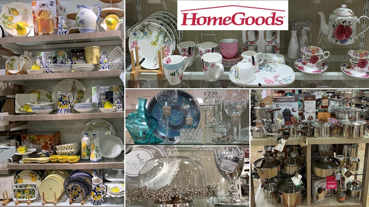 HomeGoods Kitchenware * Table Decoration Ideas | Shop With Me