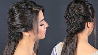 فيديو| من دون كوافير.. تسريحة شعر سهلة للخروجات