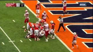 Leon Allen - Western Kentucky Football - HB - 2014 Illinois Game