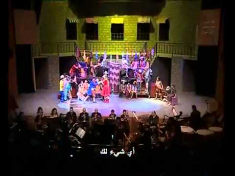 I'd do anything-oliver twist(musical),opera house, Damascus 2011.