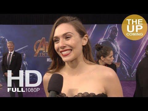Elizabeth Olsen  Avengers Infinity War premiere