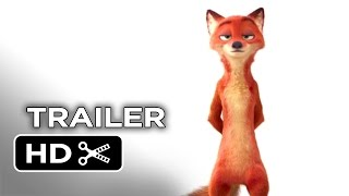Zootopia Offizieller Teaser Trailer #1 (2016) - Disney Animated Movie HD