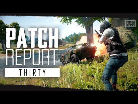 PUBG - Patch Report - PC Update #30