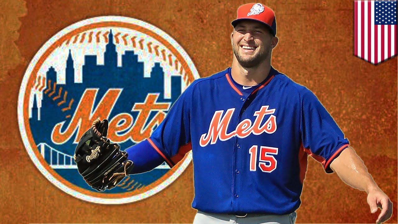 Tim Tebow baseball Tebowmania hits Mets instructional league camp