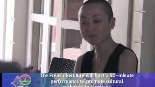 Lao NEWS on LNTV: The French Institute will host a performance.13/5/2014