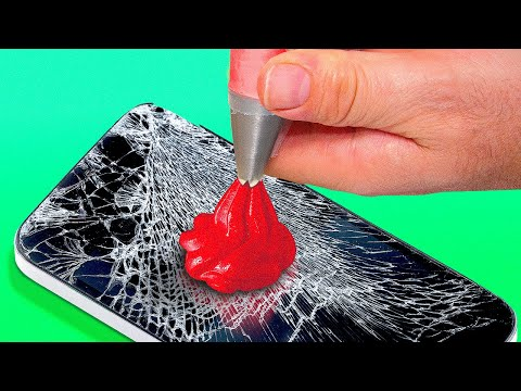 29 SIMPLY AMAZING HACKS THAT WILL SAVE YOUR LIFE || Phone Trick and Recycling Id