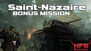 "Enemy Front BONUS Mission ""Saint-Nazaire"" Gameplay Playthrough PC Highest Settings"