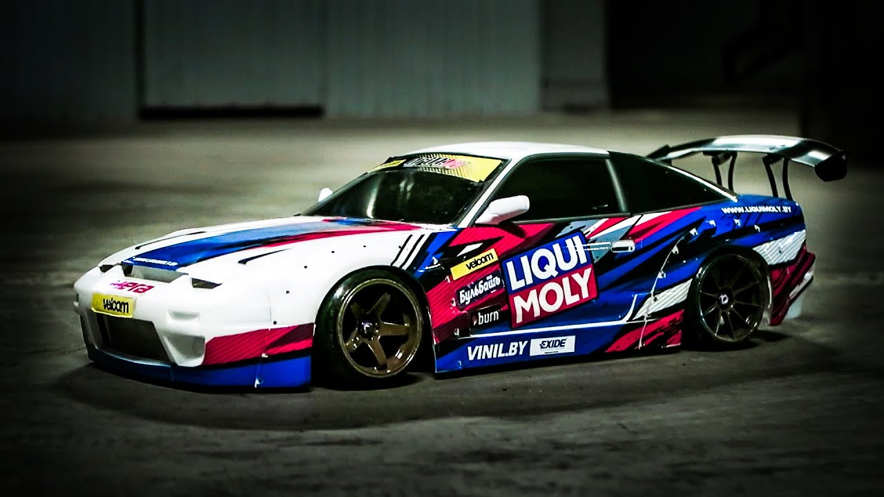 Rc Drift Car Nissan Silvia Rb Youtube
