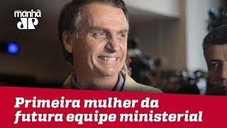 Bolsonaro se encontra com Temer e anuncia primeira mulher da futura equipe ministerial